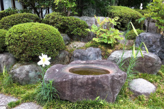 Wasserbecken Gyokurin-ji