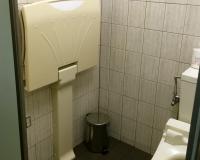 Toilette am Berg