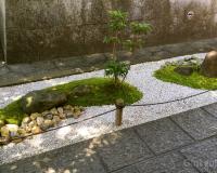 Kleiner Karesansui Garten