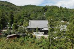 Hoko-ji von oben