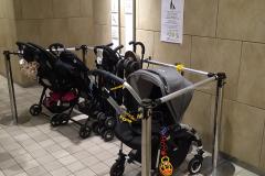 Marui Kinderwagenstellplatz